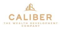 Caliber ( The Wealth Development Company ) ALTERNATE LOGO - COLOR - ALL GOLD - RGB